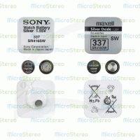 Элемент питания SR416SW 337 SONY Silver