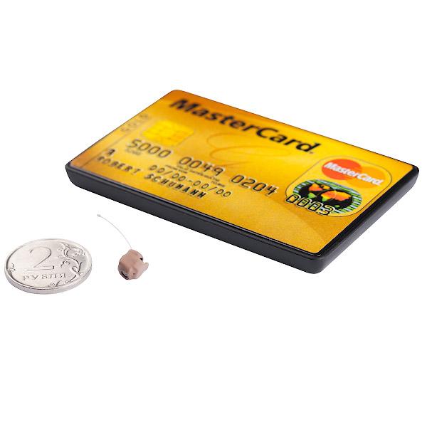 Микронаушник Pico и гарнитура BT-Card (без петли)